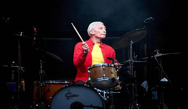 El baterista de los Rolling Stones