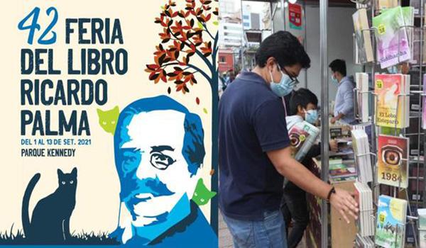 Feria Ricardo Palma: la colección «Novelas del Bicentenario» se presentará hoy a las 6:00 p.m.
